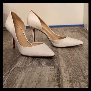 Jessica Simpson d'orsay heels